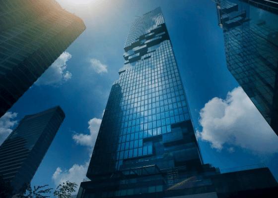 מגדל עסקים, מסחר